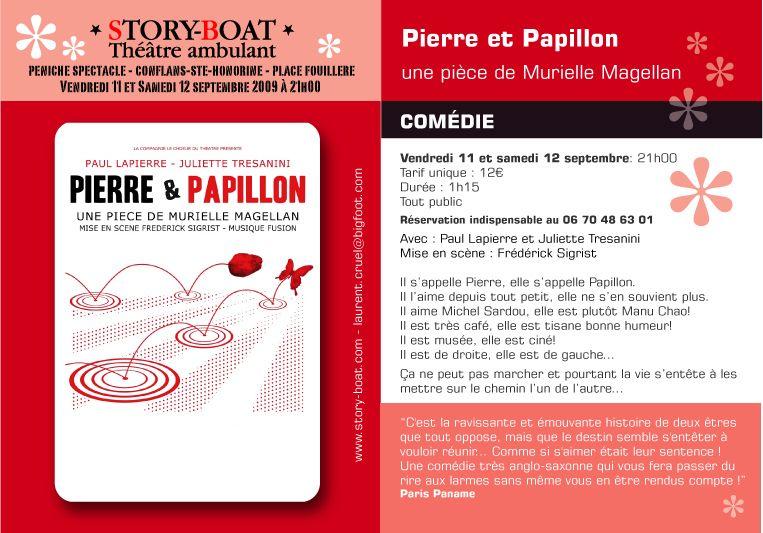 Pierre Et Papillon De Murielle Magellan Une Comedie Romantique A
